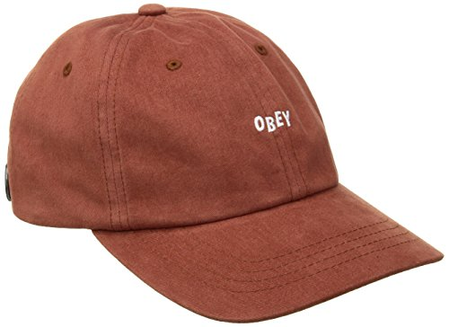 Caps Obey (Obey Herren Baseball Cap orange Rust One size)