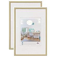 Walther Design New Lifestyle Cornici Foto, Oro, 30x40 cm