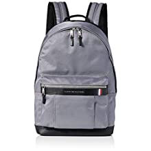 Tommy Hilfiger Elevated Nylon Backpack, Men's Grey (Concrete Grey), 1x1x1 cm (W x H L)