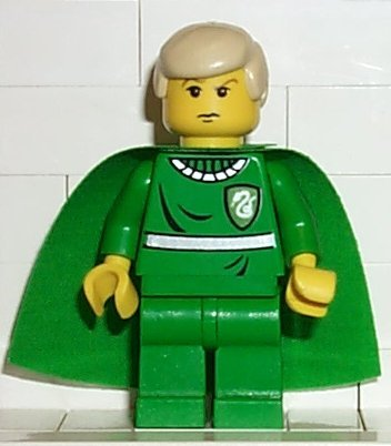 LEGO Harry Potter: Draco Dans Quidditch Uniforme Mini-Figurine