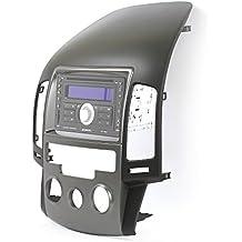 Doble DIN radio Blend para Hyundai i30(FD) i30CW, Negro/Plata