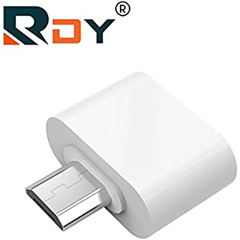 rdy OTG Adapter for Android Smartphones Like Samsung xiaomi Lenovo etc