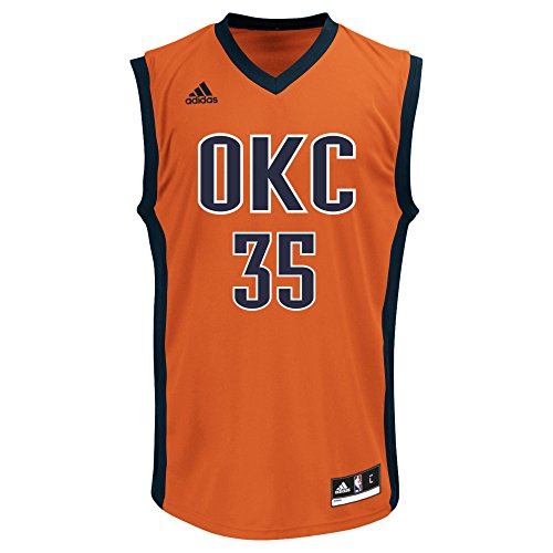 adidas NBA Oklahoma City Thunder Kevin Durant # 35Herren Replica Jersey, Groß, Rot Kevin Durant Authentic Jersey