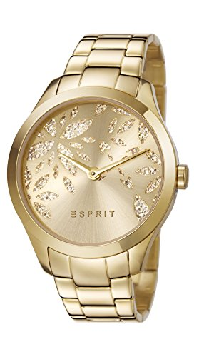 esprit-womens-lily-dazzle-quartz-watch-with-gold-dial-analogue-display-and-gold-stainless-steel-stra