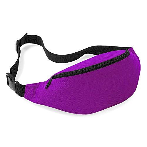 Bovake Unisex Tasche Reise Handy Wandern Sport Fanny Pack Taille Gürtel Reißverschluss Colour C