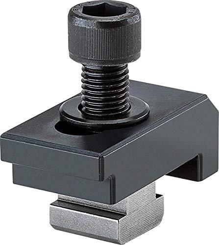 RÖHM 149122 Einfach-Spannpratze für T-Nut Komplett mit stirn- und grundseitige, 14 mm