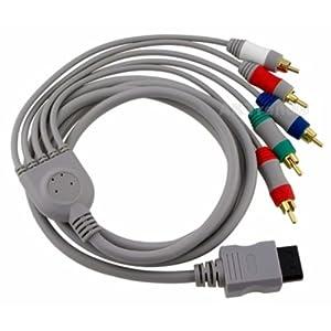 KOMPONENTENKABEL YUV / HD PRO Kabel Nintendo Wii Wii u vergoldet 480p HD * NEU *