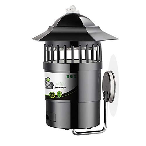 MüCkenschutz FüR Den Garten Zur Wandmontage, Intelligente Lichtsteuerung, Energieeinsparung Und Umweltschutz. Elektrische Fliegenklatsche Mit Insektenfalle