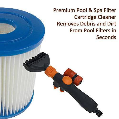 Pool-Patronenfilter-Reiniger zum Reinigen des Whirlpool-SPA-Filters, der Schmutz und Schmutz von den Poolfiltern entfernt - Spa Cartridge Filter Cleaner