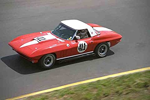 Metal Sign 521050 1965 Chevrolet Corvette Hardtop Convertible A4 12X8 Aluminium