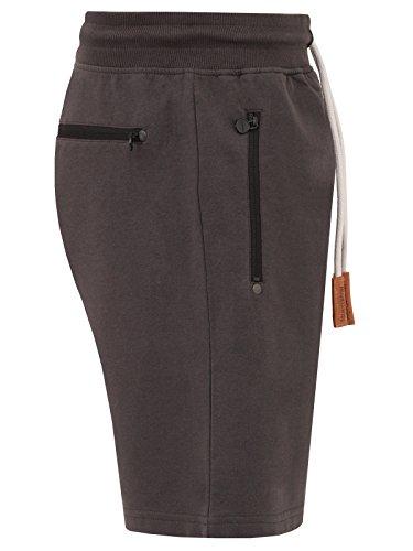 Mount Swiss Herren MS Short, Liam, Anthracite, Gr. L/Kurze Hose/Jogginghose / Sweatpants aus 100% Baumwolle - 3