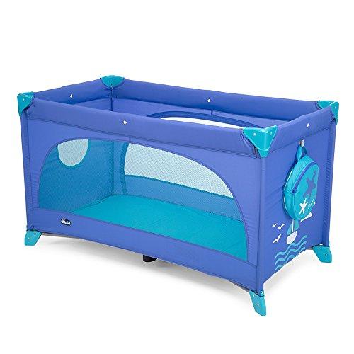 Chicco 07079087420000 Easy Sleep Lettino, Blu