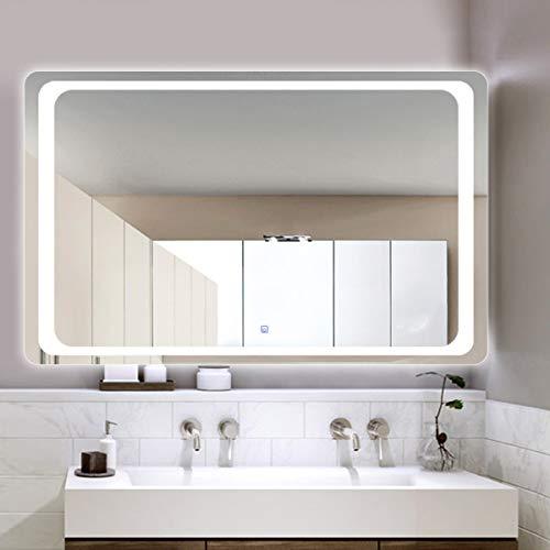 HL Espejo baño luz LED Inteligente Interruptor Anti-vaho