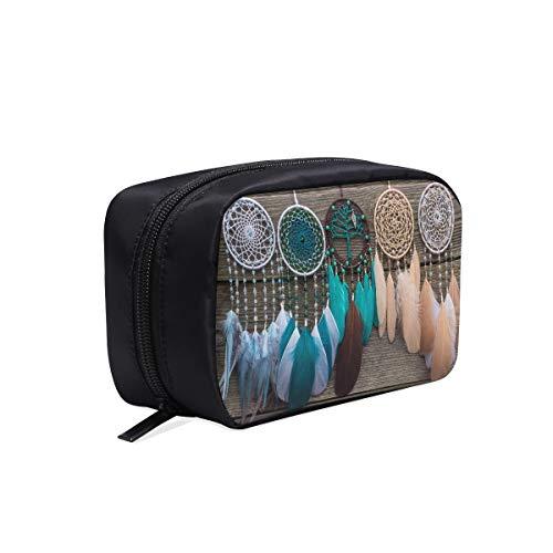 Bolsa de maquillaje para mujer Atrapasueños con hilos de hilos y cuentas Cuerda Bolsa de aseo linda Bolsa de aseo personalizada para mujer Bolsa de moda clásica Bolsas de cosméticos Estuche multifunc