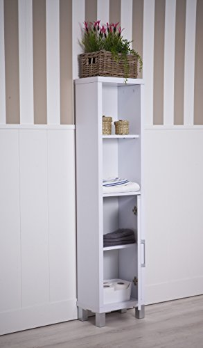 Intradisa 8903 - Estantería de baño con 3 baldas Interiores wengue