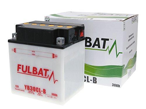 Fulbat, YB30CL - B Dry, batteria, incluso:acido per batt