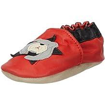 Jack & Lily Bulldog red - Zapatos de primeros pasos bebé