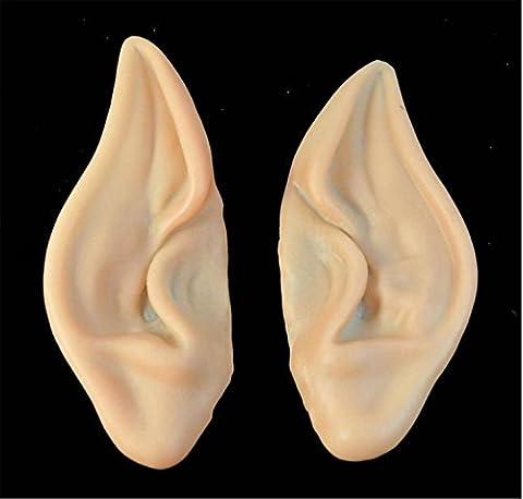Supports de maquillage de masque de nez de cochon d'Halloween , fairy ears