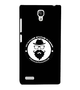 EagleHawk Designer 3D Printed Back Cover for Xiaomi Redmi Note Prime - D390 :: Perfect Fit Designer Hard Case