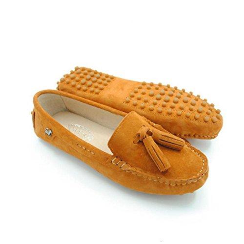 Meijili , Sandales Plateforme femme Orange