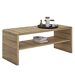 Furniture To Go | 4YOU Coffee Table/TV Stand Unit, Heat & Scratch Resistant - Sonama Oak