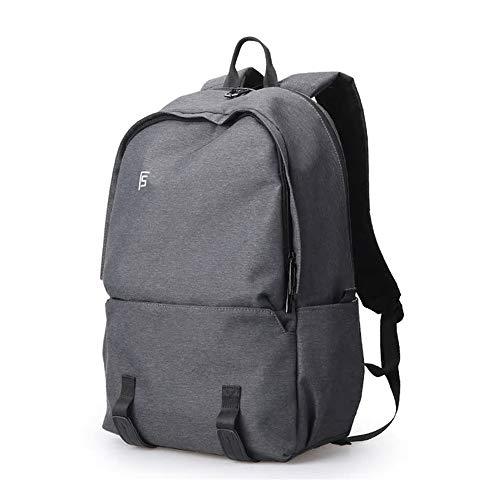 Sjbao Zaino Nuovi Uomini Backpacks 15.6Inch Laptop Maschio Computer Rucksack Moda Viaggio Viaggio Zaino Borsa Anti Thief Grigio Scuro