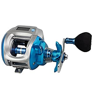 Himenlens Line Counter Reel For Saltwater Shallow Sea Boat