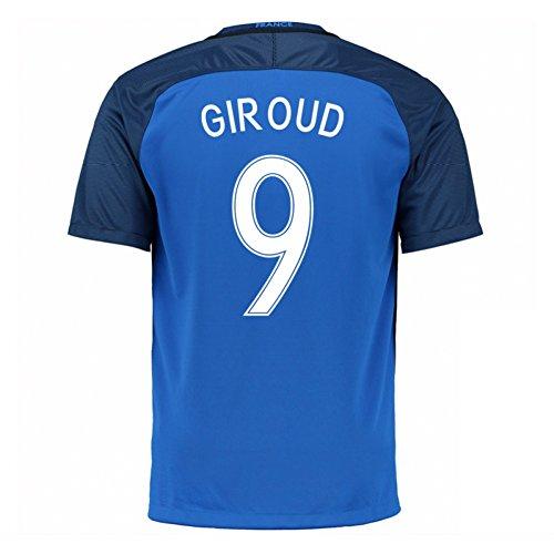 2016-17 France Home Shirt (Giroud 9)