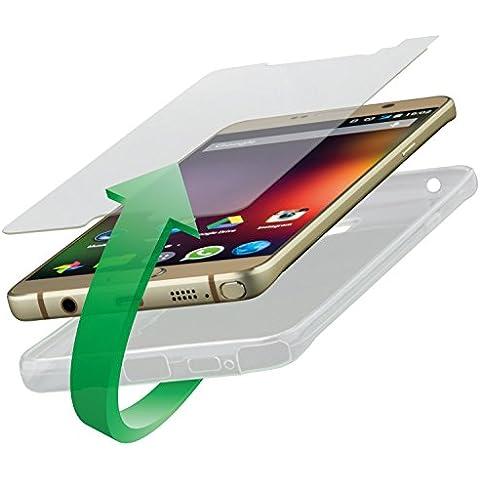 4smarts 360° Protection Kit vetro di protezione & per cellulare Second Glass & Case Set protezione completa Cover per Sony Xperia Z3
