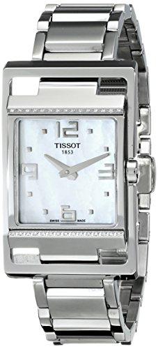 Tissot My T-Square T0323091111701 - Reloj de caballero de cuarzo, correa de acero inoxidable color plata
