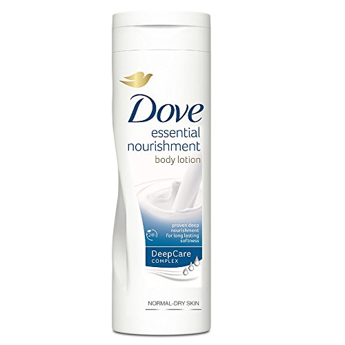 Dove Essential Nourishment Body Lotion 400ml  available at amazon for Rs.350