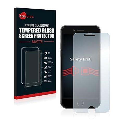 Savvies Panzerglas Apple iPhone 6 Glasfolie Matt Schutzfolie - 9H