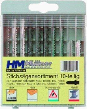 STICHSAEGENSORTIMENT 10TL G, SB F. HOLZ UND METALL,