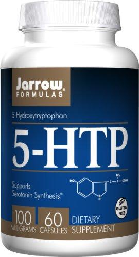 Jarrow 5-HTP (Gluten Free, 100mg, 60 Capsules)