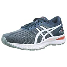 Asics GEL-Nimbus 22, Men's Running Shoes, Light Steel/Magnetic Blue, 14 UK (50.5 EU)