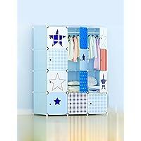 ABS plastica semplice piega Combinazione armadio moderno semplice Assemblea armadio in resina Protezione Ambientale Combinazione armadio
