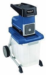 Einhell BG-RS 2540/1 CB Elektro-Leisehäcksler, 2500 Watt, max. Ø 40 mm Aststärke, inkl. 60l Fangbox