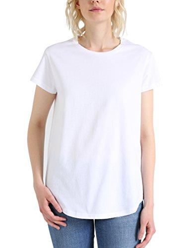 Berydale Damen T-Shirt Bd324 Mehrfarbig (Hellgrau/Weiß Hellgrau/Weiß)