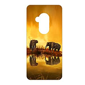 Vibhar Premium Printed Matte Designer Back Case Cover for Coolpad Note 5 - Elephant Shadow