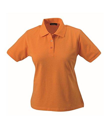 Polo di alta qualità con polsini Classic Polo Ladies Uni sport polo manica corta in diversi colori Taglia S à 2XL Orange