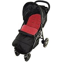 Saco/Cosy Toes Compatible con Britax carrito, color rojo