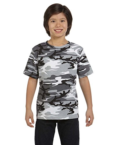 Code V Youth Camouflage Baumwolle T-Shirt Gr. Small, URBAN WOODLAND (Woodland T-shirt Camouflage Kids)
