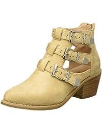 Xti Zapatos Para Mujer Botas Beige Y es Amazon 5wHxOqAH