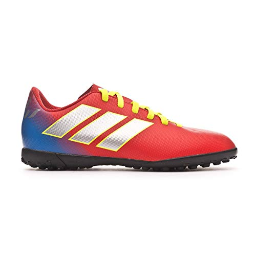 purchase cheap 25df0 aec57 adidas Boys Nemeziz Messi 18.4 Tf J Shoes, Active RedSilberFoil