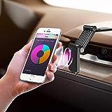 Faltbare Handy Auto Halterung Magnetisches Armaturenbrett KFZ Handy Halterung mit Fingerringständer, Universal Smartphone Auto Halter für alle iPhone Samsung und andere Handys