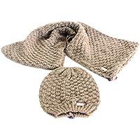 Set cappello e sciarpa ad anello Gian