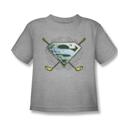 Superman - Fore! Juvy T-Shirt in Heather, Large (7), Heather (Heather T-shirt Juvy)