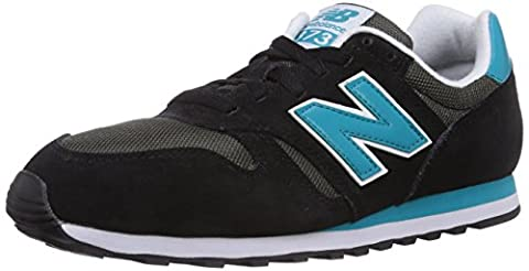 New Balance 373, Herren Sneakers, Schwarz (Black), 45 EU (10.5