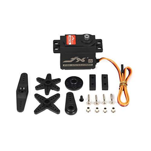 JX PDI-HV5523 HV High Voltage Metal Gear Digital Core Servo mit 23kg High Torque für RC Auto-Roboter-Flugzeug-Flugzeug Drone DIY