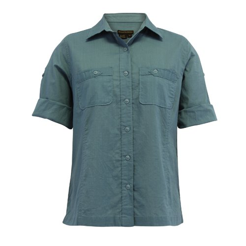 Royal Robbins Cabrio Camp Damen Shirt Top, damen, Niagara (Cabrio Bluse)